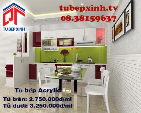 Tủ bếp Acrylic nhà anh Minh Thái Tại Gò Vấp | Tủ bếp, tủ bếp hiện đại với thiết kế đẹp, mang niềm vui đến gia đình bạn | Scoop.it