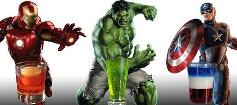 7 cocktails inspirés des Avengers pour une soirée à thème parfaite ! | Superheroes & Supervillains | Scoop.it