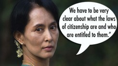 Aung San Suu Kyi's defense of Rohingya Muslims - deLiberation | HumanRight | Scoop.it