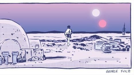 An artist is drawing one new Star Wars comic per day in 2015 | OddBasement.com | Scoop.it