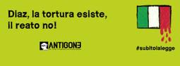 TORTURA, ANTIGONE: CON DDL OCCASIONE PER COLMARE VUOTO   R*ESIST   Scoop.it