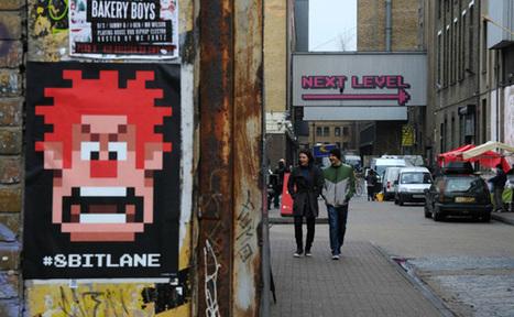 Une opé de street marketing transforme une rue de Londres en 8-bit | communication évènementielle | Scoop.it