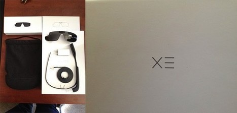 Google Glass Explorer Edition gets unboxed, photographed (video) | Locative Media | Scoop.it