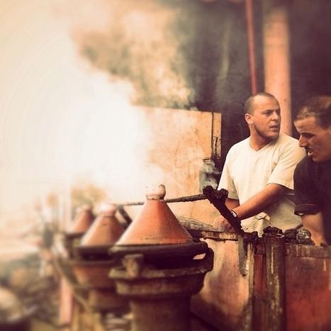 Street food vendor in Marrakech | Arts & luxury in Marrakech | Scoop.it