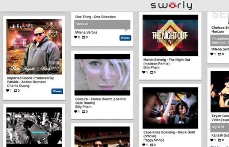 Curate Your Favorite Songs with Sworly | iCurate: | Scoop.it