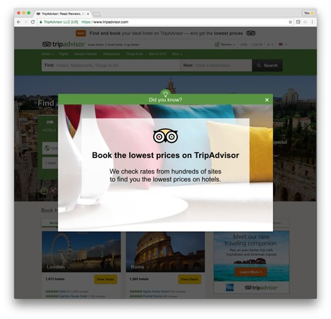 TripAdvisor redesign puts activities front and centre alongside hotels | Hotel Internet Marketing | Scoop.it