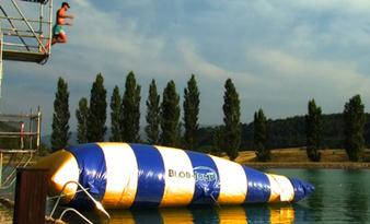 Blob Jump sur le plan d'eau de la Germanette à Serres | Sonart agence audiovisuelle | Scoop.it