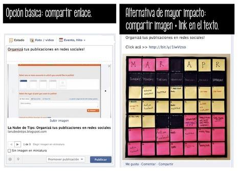 La Nube de Tips: Mini trucos para tu fanpage en Facebook | Social Media | Scoop.it