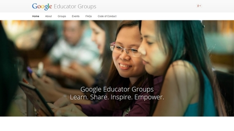 HEADLINE: Google Education launches Google Educator Groups ~ Edukwest | Serious-Minded Games | Scoop.it