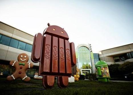 Android 4.4 se chamará KitKat | Tech Maker | Scoop.it