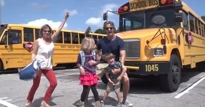Parents Make Hilarious Back To School Video!  Baby's Got Class   castle pictures   Scoop.it