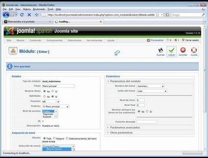 Diseño Web Avanzado con Joomla para Webmaster Tutorial AudioVisual   Gotecno   joomlachile   Scoop.it