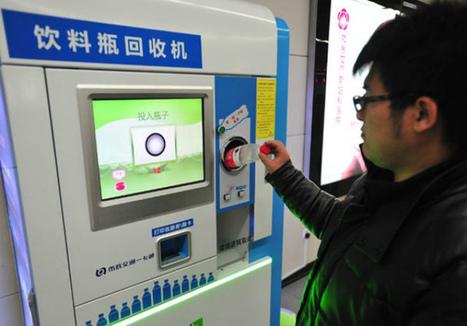 Basura y reciclaje: Ciudadanos de Pekín pagan su viaje en  metro con botellas PET | Green Stuff. | Scoop.it