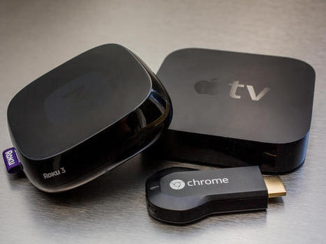 Chromecast vs. Apple TV vs. Roku vs. Amazon Fire TV - CNET | AllAboutSocialMedia | Scoop.it