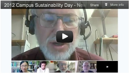 2012 Campus Sustainability Day - New England Area - SCUP's Planning for Higher Ed Mojo | SCUP Links | Scoop.it