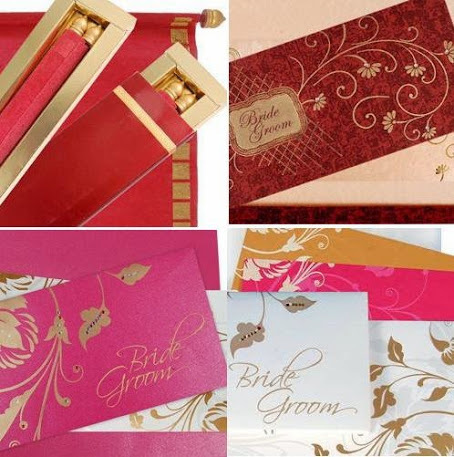 The Hindu wedding cards are as colorful as the ceremony | Designer Wedding Cards | Scoop.it