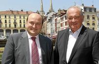 Rencontre politique à Bayonne entre A. Ortuzar et J.-J. Lasserre - Le Journal du Pays Basque | BABinfo Pays Basque | Scoop.it
