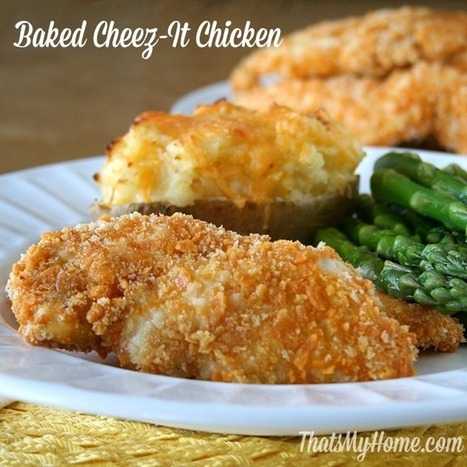 Baked Cheez-It Chicken - That's My Home   Food   Scoop.it