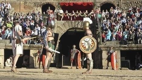 El Anfiteatro romano ofrece el sábado un espectáculo de lucha de gladiadores .   LVDVS CHIRONIS 3.0   Scoop.it