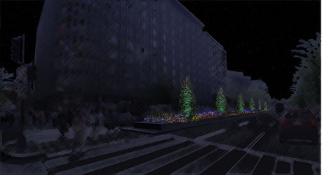 Light Art Concept selected for Connecticut Avenue, Washington DC ... | Light Art | Scoop.it