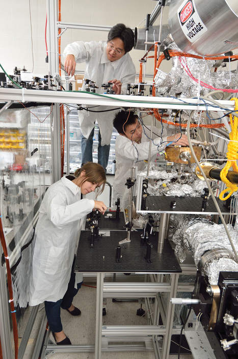 New microscope captures movements of atoms and molecules - MSUToday | The Atoms Life | Scoop.it