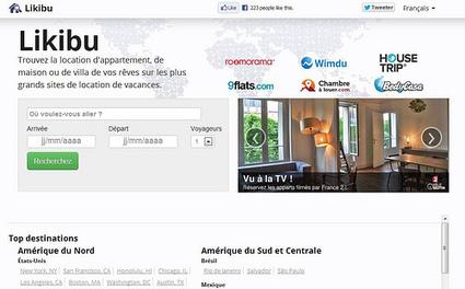 Likibu, le comparateur de locations de vacances   Chambres d'hôtes et Hôtels indépendants   Scoop.it