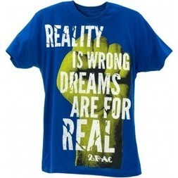 2Pac Power of Dreams T-Shirt royal blue T.A.S.F. 2pac Store | Authentic 2pac gear | 2pac shirt | Scoop.it