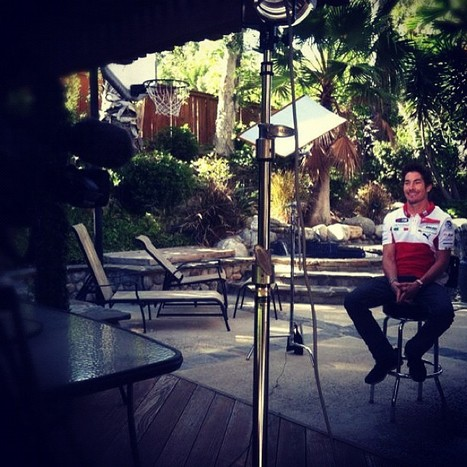 Nicky Hayden's photo | Live on #speed in 5. #action | Ductalk Ducati News | Scoop.it