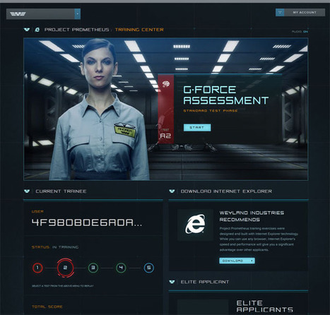 New HTML5 'Prometheus' Training Center Shows Off Power of the Web | Transmedia: Storytelling for the Digital Age | Scoop.it