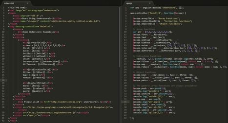 Using UnderscoreJS with AngularJS | connectedcity | Scoop.it