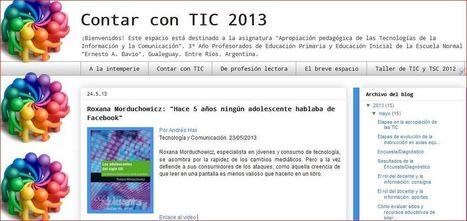 Contar con TIC 2013 | El uso de las Tic en educación | Scoop.it