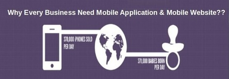 Why all business are always asking for mobile application and mobile website | Hire Mobile App Developer | Scoop.it