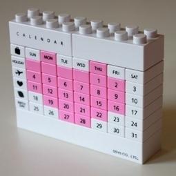 Calendrier Puzzle Heart White Rose - Chatfoin | Papeterie kawaïï, so cute et vintage | Scoop.it