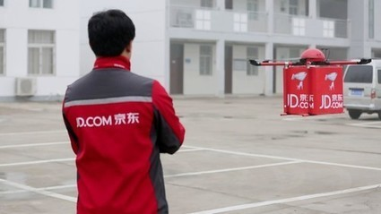 Tapping rural areas, JD.com to use drones for deliveries - People's Daily Online | Global Logistics Trends and News | Scoop.it