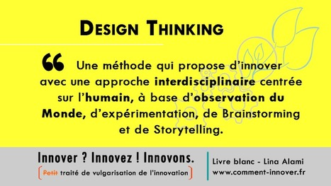 Pratiquer le Design Thinking pour innover | Edulateral | Scoop.it