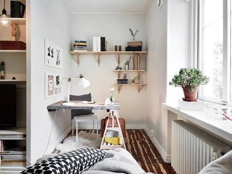 Les petites surfaces du jour : un studio façon cocon | PLANETE DECO a homes world | décoration & déco | Scoop.it