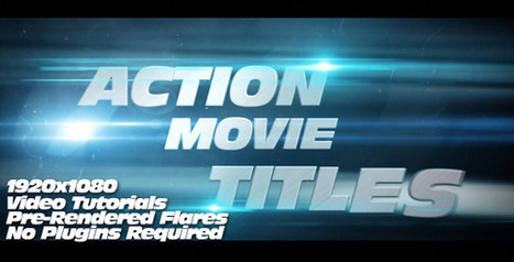 20 After Effects Templates Inspired by Action Movies | Motion Graphics Inspiration | Scoop.it
