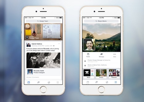 Facebook at work, premiers retours | The quest for zero email  & social business | Scoop.it
