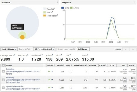 A Guide to Social Advertising Analytics from Facebook, Twitter, and LinkedIn | Web Analytics and Web Copy | Scoop.it