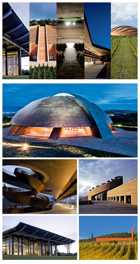 Top 5 Designer Italian Wineries | Italica | Scoop.it