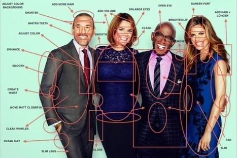 Love Your Selfie: TODAY Show Hosts get 'Fantasy' Photoshop Makeover | Photography | Scoop.it