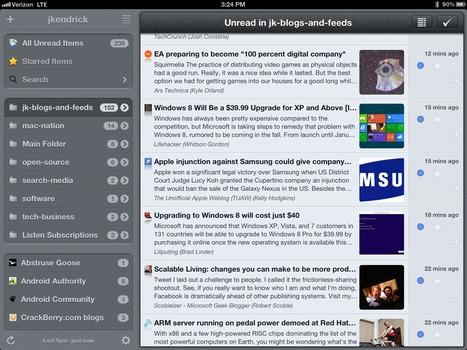 Mr. Reader for iPad: Best way to work with Google Reader on any platform | ZDNet | Poimintoja internetin ja sosiaalisen median virrasta | Scoop.it