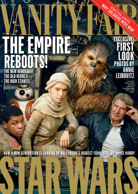Star Wars: The Force Awakens Is on the Cover of Vanity Fair | Politically Incorrect | Scoop.it