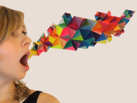 DIY 3D Geometric Sculpture | diydesign | Scoop.it
