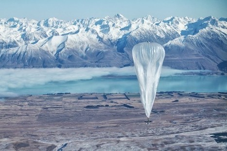 Project Loon: internet voor iedereen | FMT Realtime Revolutie | Scoop.it