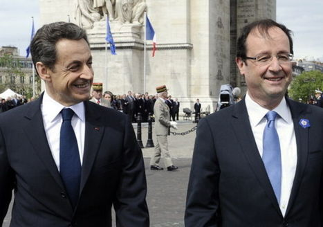 Hollande et Sarkozy réunis pour le 8-Mai | Epic pics | Scoop.it