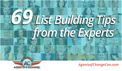 69 List Building Tips from the Experts | Tools, Tips, & Techniques for the Beginner Internet Marketer | Scoop.it