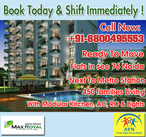 Ready To Move Flats in Sector 76 Noida | Residential Projects in Noida | Scoop.it