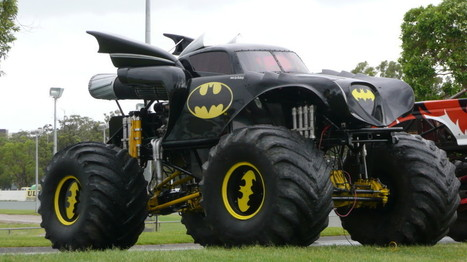 Wide Batman Monster Truck HD Wallpaper | New Automotive HD Wallpapers Collections for Desktop, Iphone, Ipad, and Android | Cars Wallpapers | Scoop.it