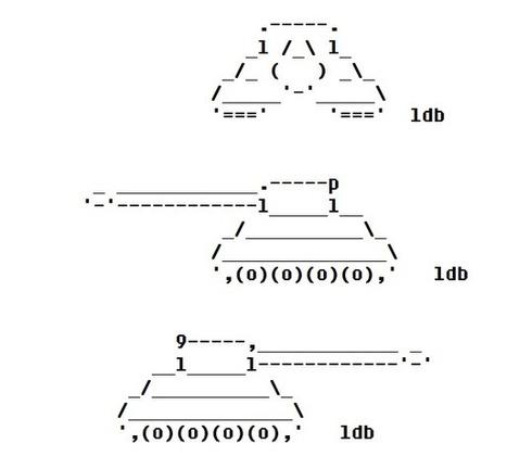 Tank for an ASCII Game – ASCII Artist | ASCII Art | Scoop.it